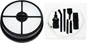 Replacement HF-16 HEPA Filter with 1 Micro Vacuum Attachment Kit for Eureka, Electrolux - Compatible with Eureka AS5204A, Eureka HF-16, Eureka AirSpeed Zuum AS5204A, Eureka 5400 Series, Eureka AS5200 Series, Eureka AS5210, Eureka AirExcel NLS 5403A, Eureka 68115, Eureka 68715, Eureka 83936-3, Hoover UH70400 Series