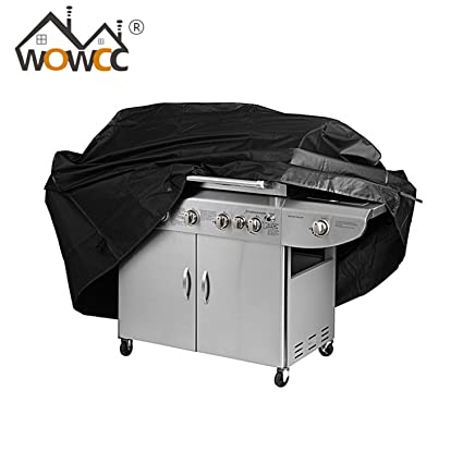 WOWCC 1Pc Outdoor BBQ Grill BBQ Cover Garden Storage Waterproof Barbecue Grill Cover Barbacoa Anti Dust