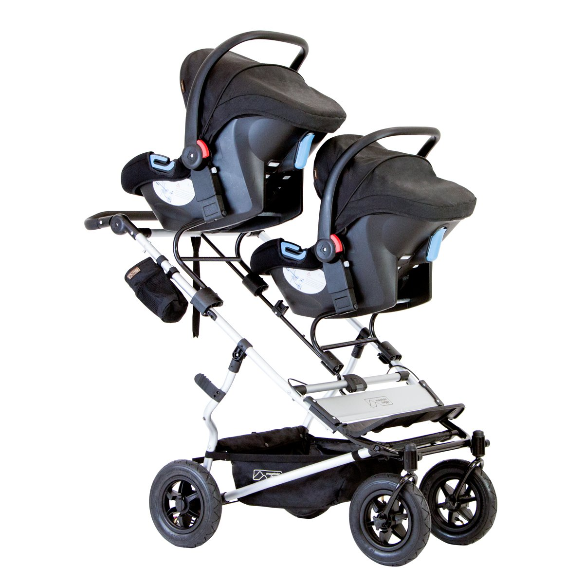 Mountain Buggy Duet 2016 Double Stroller, Black by Mountain Buggy (Image #4)