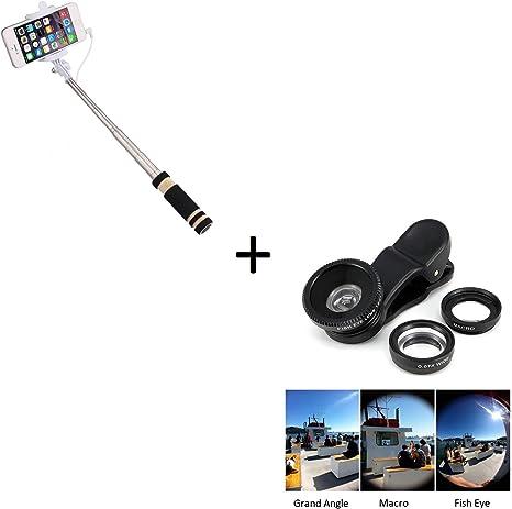 Pack Foto para Sony Xperia L2 Smartphone (Mini Selfie Stick + ...