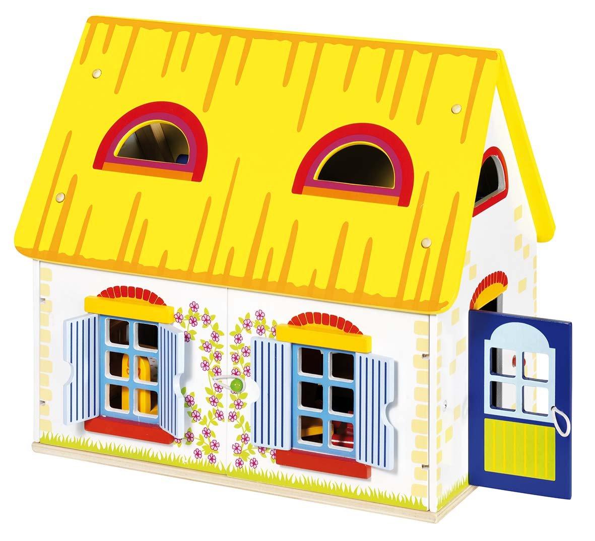 Goki - 2040683 - Maison De Poupée - Cottage Avec Accessoires 51742