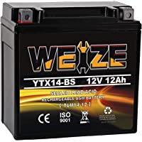 Weize YTX14 BS ATV Battery High Performance - Maintenance Free - Sealed… photo
