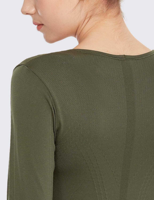 Unbekannt Damen Siren Long Sleeve Yoga-T-Shirt