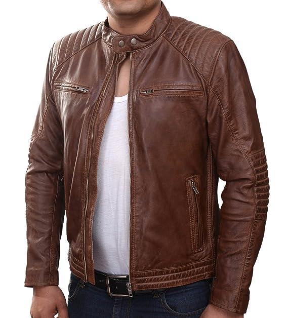 GIL   Herren Lederjacke »Solo Rider« mit 2 Brusttaschen