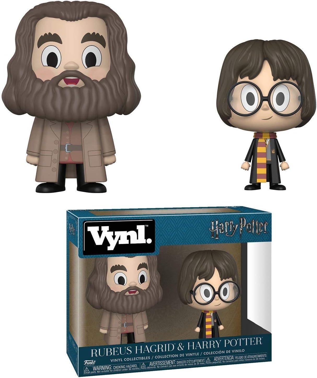 Set Figuras Pop! Harry Potter Harry & Hagrid