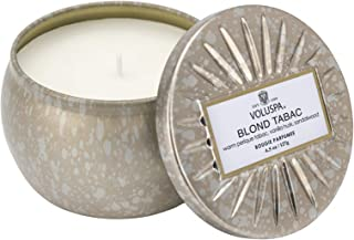 product image for Voluspa Blond Tabac Petite Tin Candle, 4 Ounces