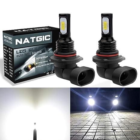 NGCAT 9006/HB4 - Bombillas LED para faros delanteros superbrillantes 30000 K, para luz