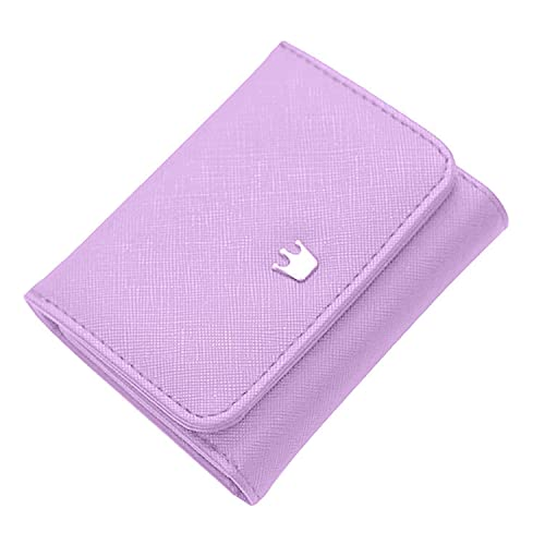 Indove Faux-Leather 3 Fold Small Wallet c8809376b247