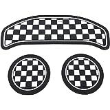 スカイベル(SKYBELL) BMW MINI 用 ドリンク ホルダー コースター 1台分セット