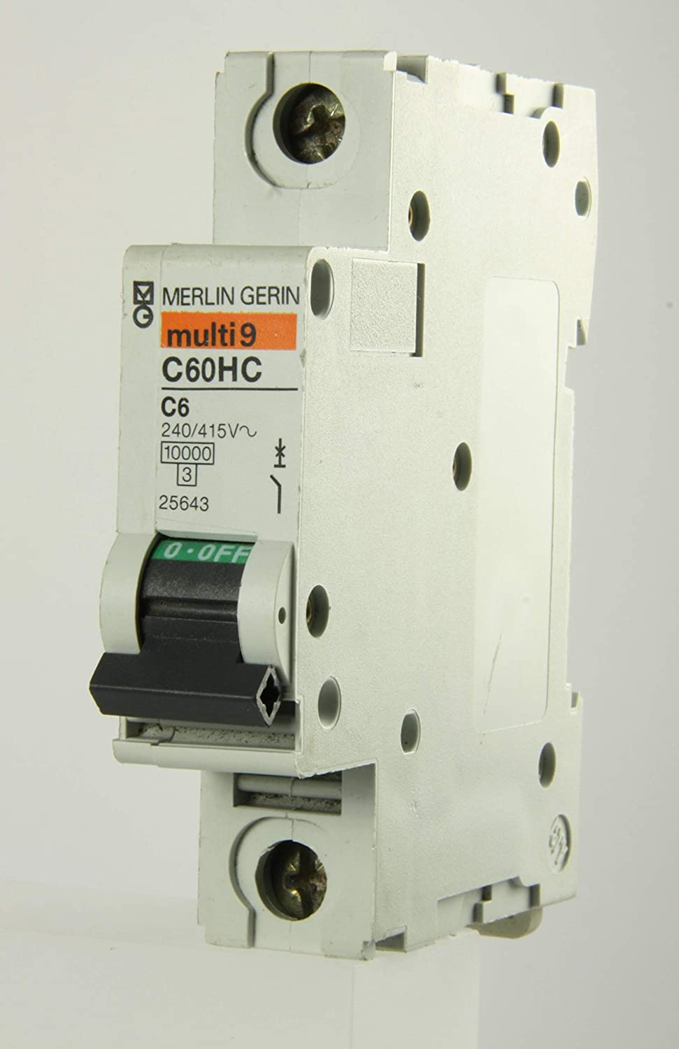 Merlin Gerin Multi 9 C60HC106-6a Type C Single Pole MCB