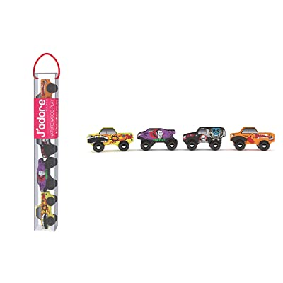 Jadore Mini Monsters Mobile Trucks: Toys & Games