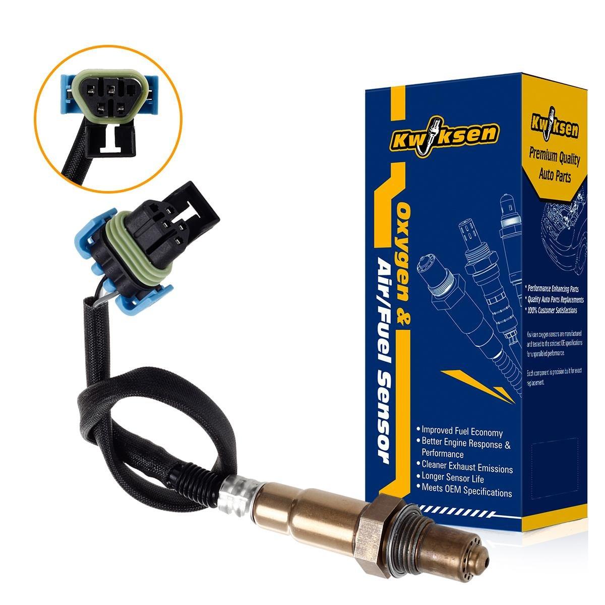 Kwiksen Heated O2 Oxygen Sensor 234-4815 Replacement for Buick LaCrosse 3.6L//GMC Terrain Saab 9-4X 3.0L 2011