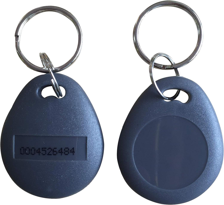 100pcs RFID 125 kHz Proximity ID Token Porte-clés Porte