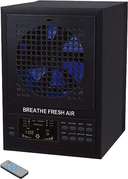 SMUGDESK Breathe Fresh purificador de Aire 5 en 1 con UV, Potencia ...