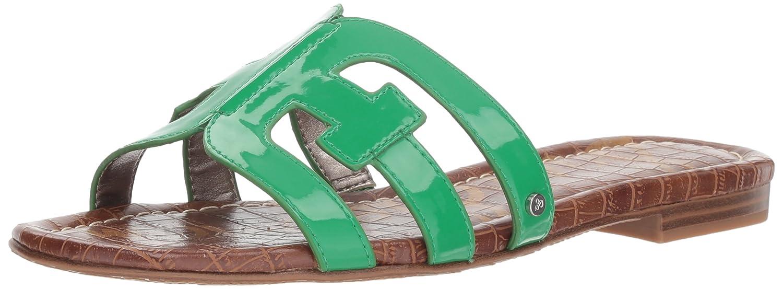 Sam Edelman Women's Bay Slide Sandal B07D3NQV2V 8.5 M US|Leaf Green Patent