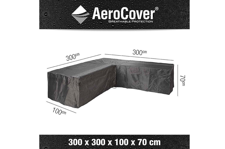 Amazon.de: AeroCover Schutzhülle in L-Form für Lounge Sets, Ripstop ...