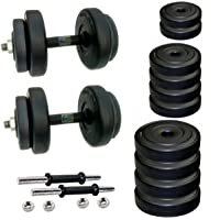 BODY MAXX PVC Dumbells Set, 20kg