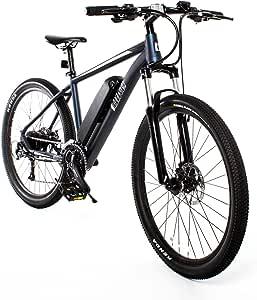 Amazon.com : Mountaineer Electric Mountain Bike (Midnight