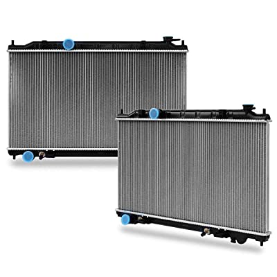 Complete Radiator Replacement for Nissan 2002 2003 2004 2005 2006 Altima 2.5L: Automotive