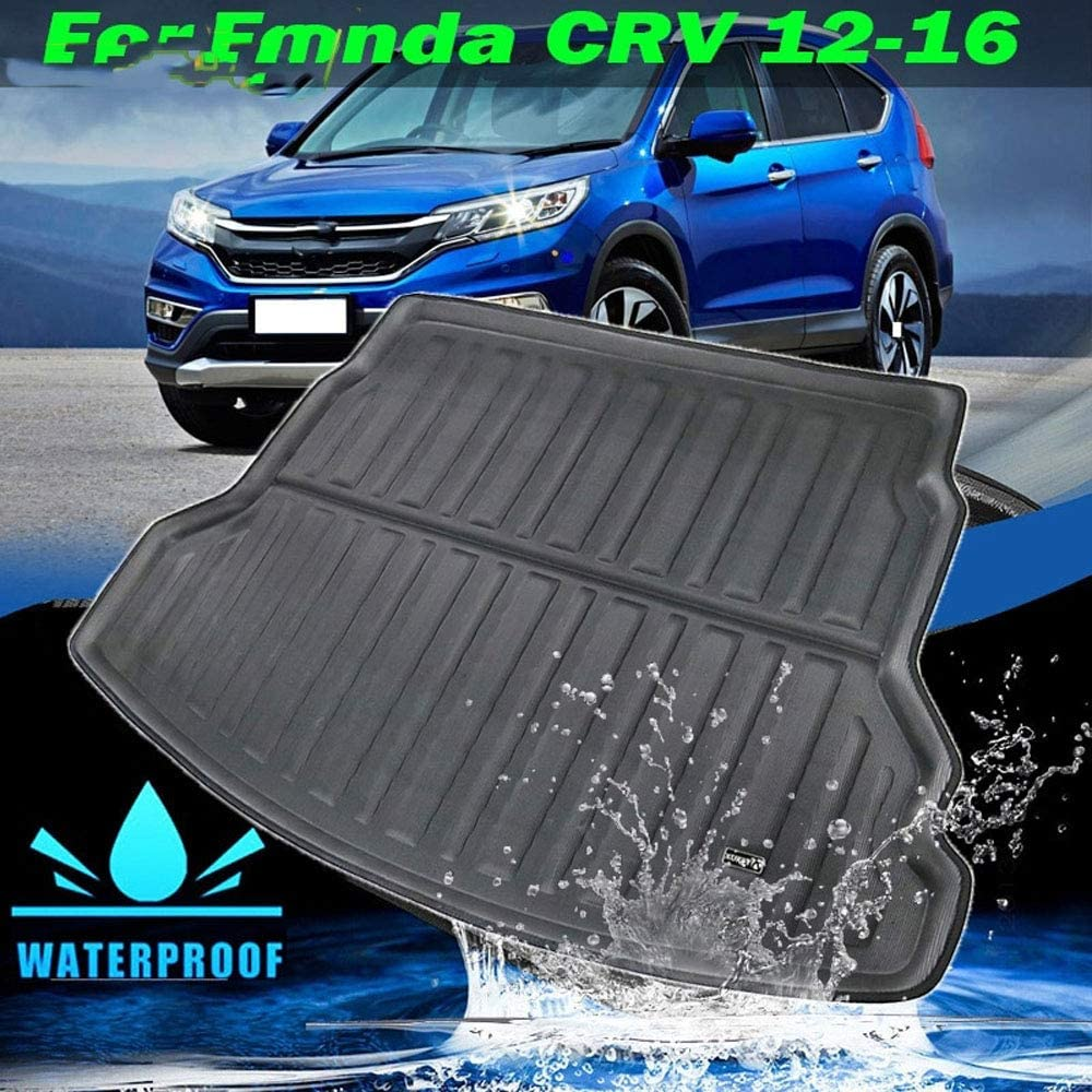 REEMILY Accessories Trunk Cargo Boot Mat For Honda CRV CR-V CR V 2012-2016 Rear Liner Luggage Tray Floor Carpet 2013 2014 2015