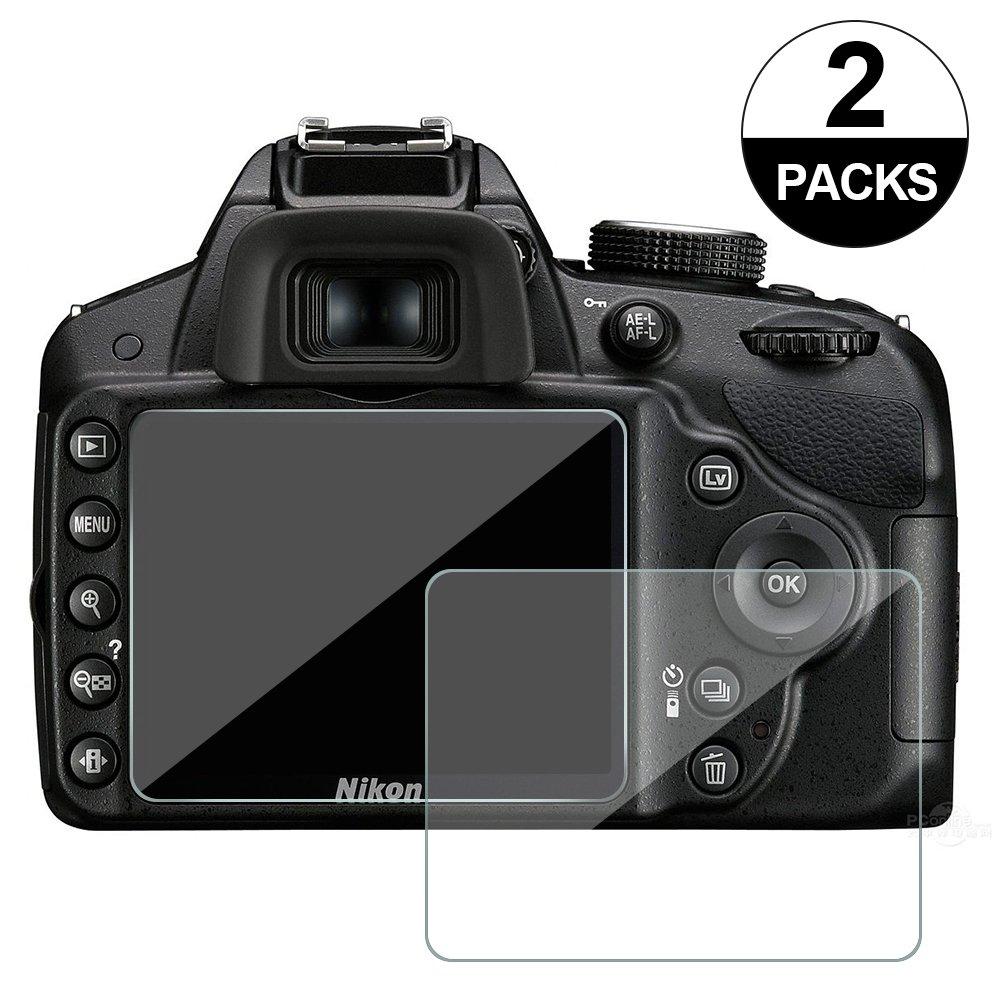awinner cristal para cámara, para Nikon D3200 D3400 D3300 D3100 Protector de pantalla anti-