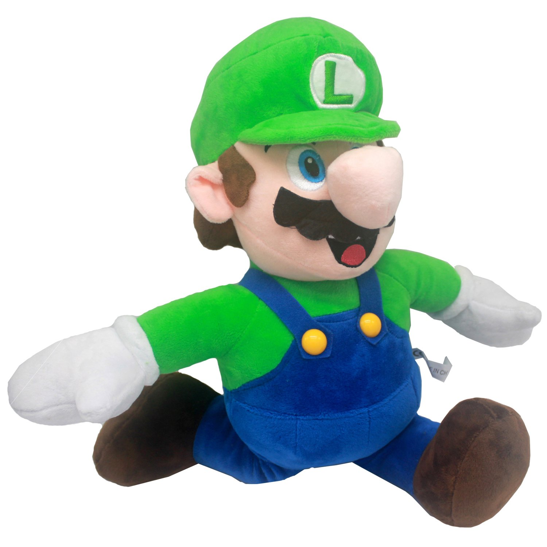 FAIRZOO Super Mario Plush, Luiqi, Mario Soft Stuffed Plush Toy Green - 20'' by FAIRZOO