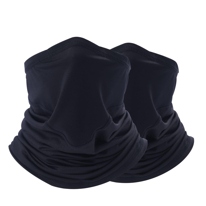 YIBEIYI Summer Dust UV Face Mask - Windproof Neck Gaiter/Headwear/Bandana for Men and Women (YBY-A048-AA-HH)