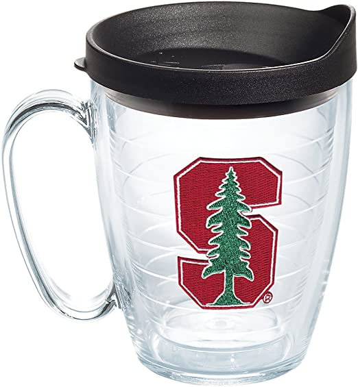 16-ounce Squat Travel Mug Tumbler Red Liberty University