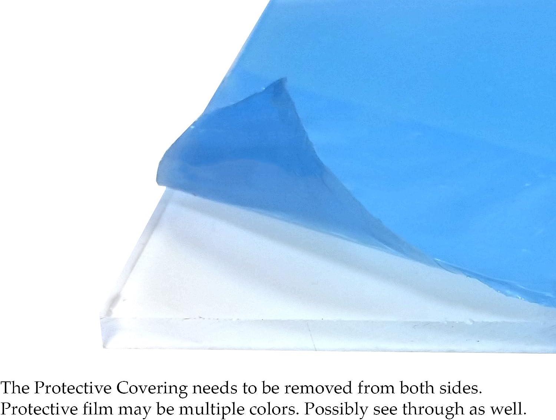 20×23 UV保護プレキシガラス 0.090インチ