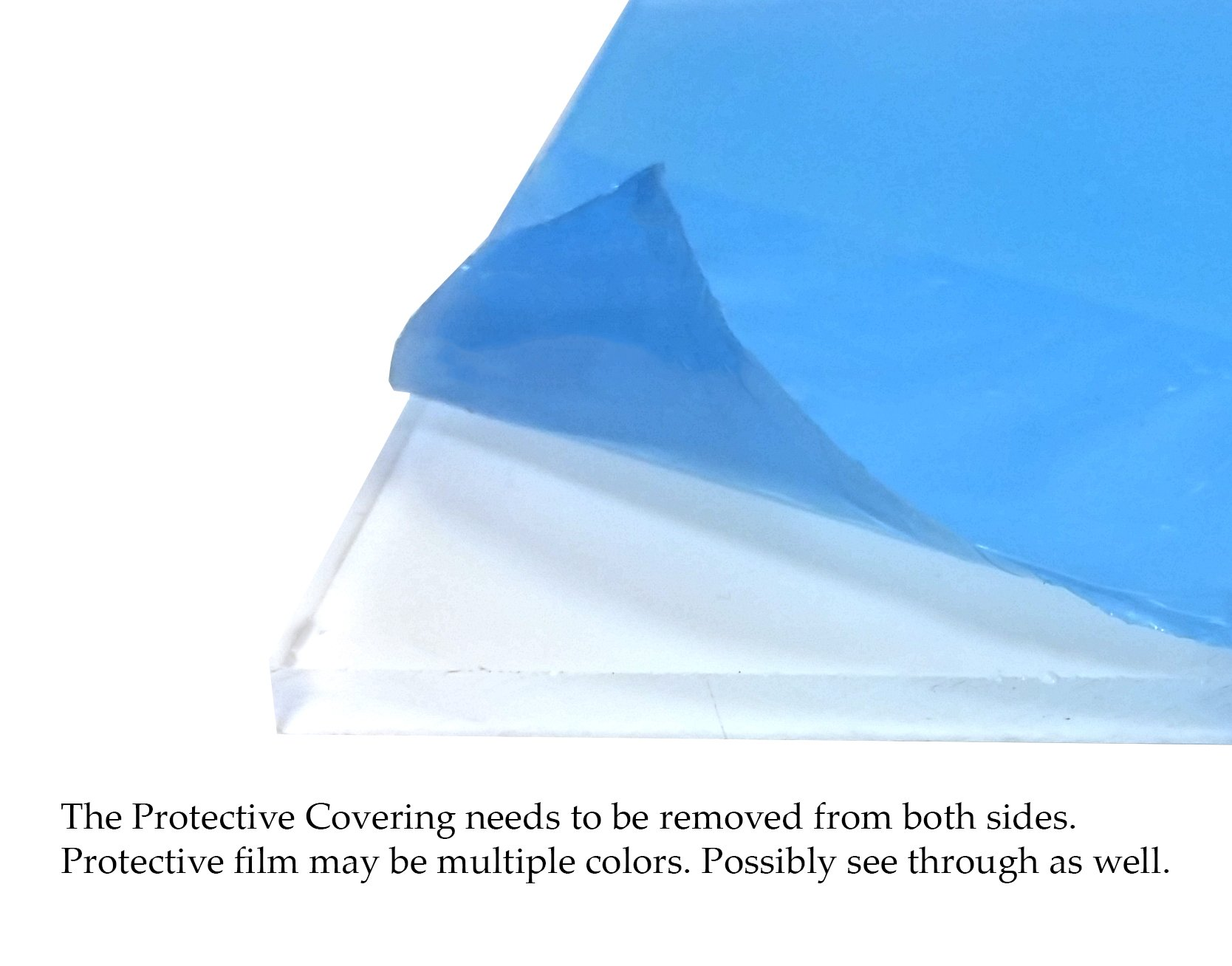 13x16 UV Protected Plexi Glass - 0.090''.