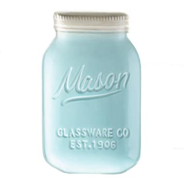 Blue Ceramic Mason Jar Spoon Rest by World Market