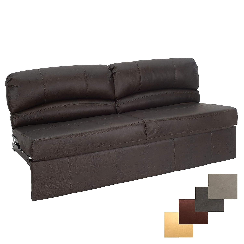 RecPro Charles RV Jackknife Sofa   Love Seat   Sleeper Sofa   Length  Options 62\