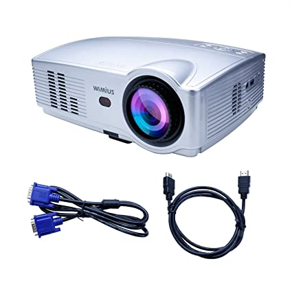 Projector Wimius T4 3300 Lumens 1280 800 Hd Led Video Amazon Co Uk