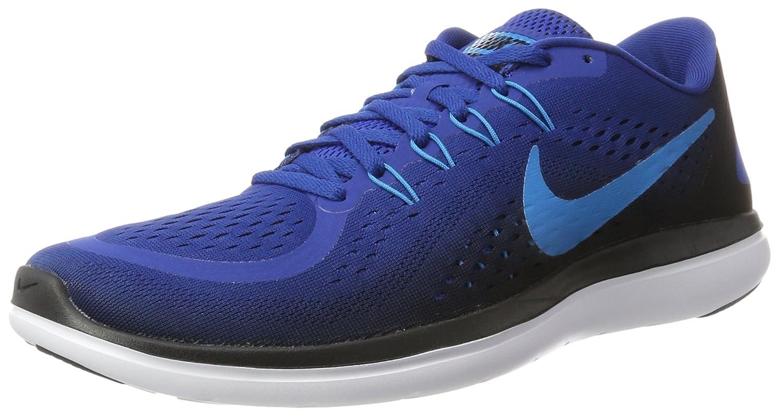 Nike Flex 2017 RN, Zapatos para Correr para Hombre 44 EU|Multicolor (Gym Blue/Blue Orbit/Black/White 402)
