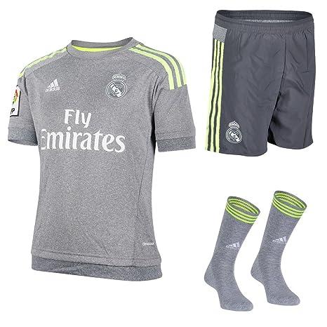 half off 76d36 65448 REAL MADRID FC ADIDAS FOOTBALL KIT CHILDREN`S SHIRT SHORTS ...
