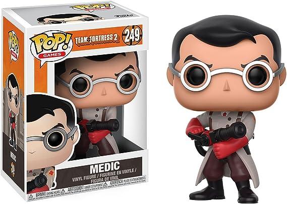 Team Fortress 2-Funko Pop Games Figura de Vinilo Medic, Color Mulitcolor 21038: Amazon.es: Juguetes y juegos