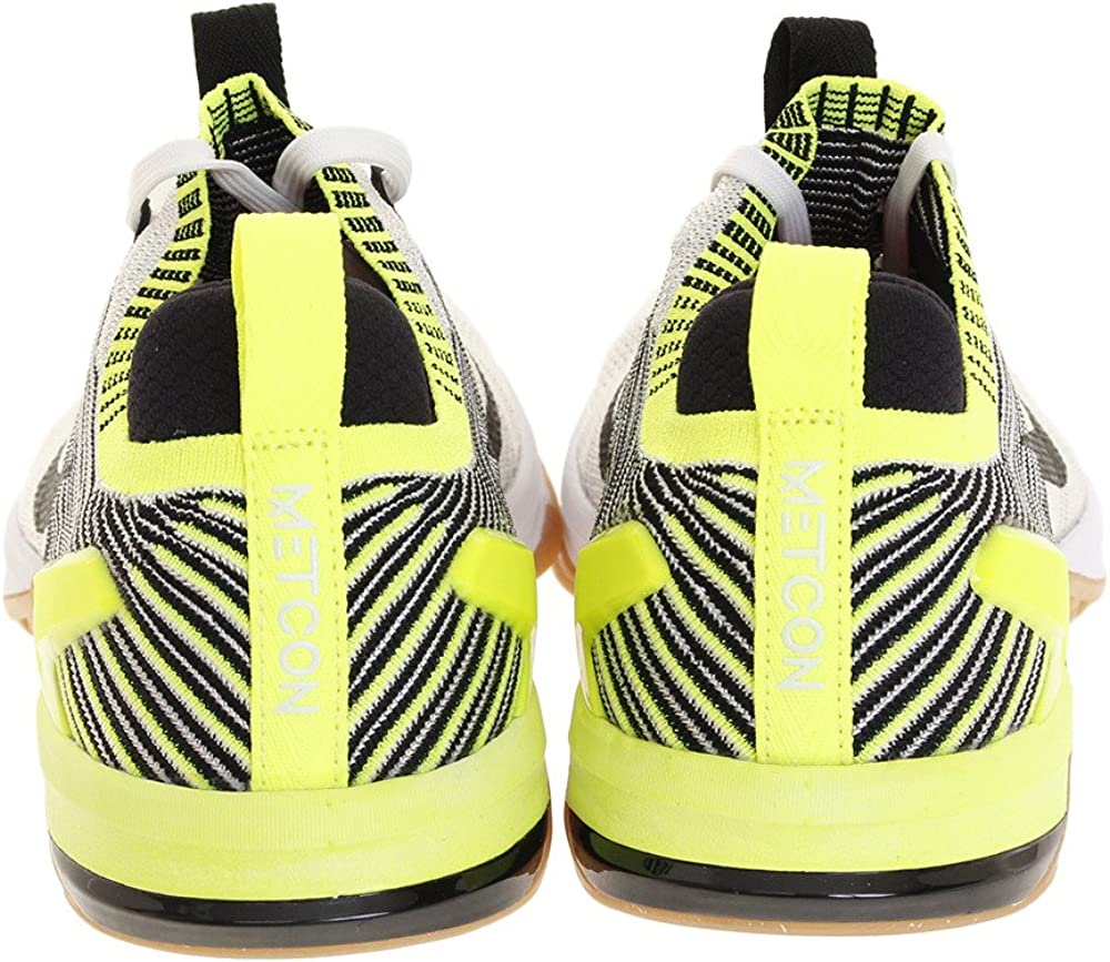 Nike Metcon Dsx Flyknit 2, Chaussures de Fitness Homme Blanc Noir Volt Gum Marron Moyen