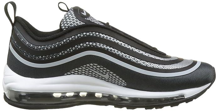uk availability 952b0 44e17 Amazon.com  Nike 917998-001 Grade School AIR MAX 97 UL 17 (GS) Black Pure  Platinum  NIKE  Shoes
