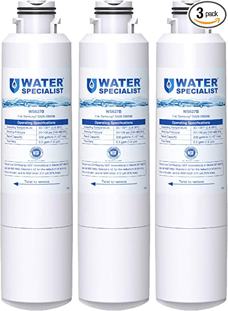 Details about  /Water Specialist WS627B-A Filter Replacement SAMSUNGDA29-00020B