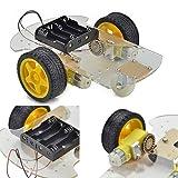 BABAN Chassis voiture Kit Moteur Intelligent Robot Pour Arduino