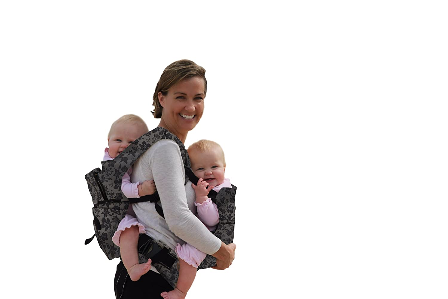 Stuff 4 Multiples Twingaroo Double Baby Carrier, Floral TGROO5