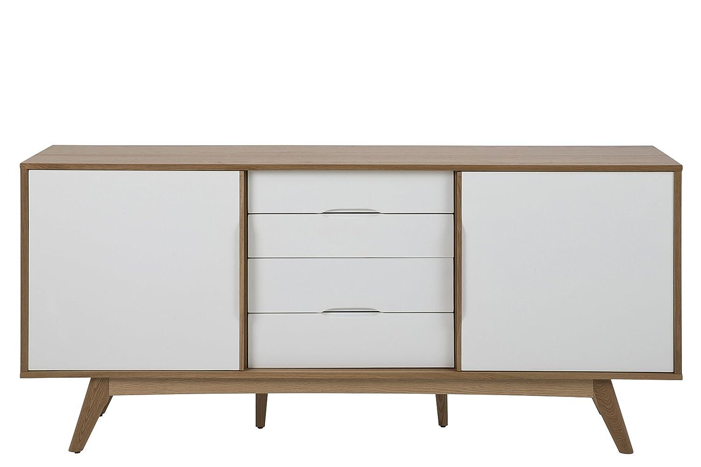 """Verschiedene Kommode Weiß Holz Referenz Von Details Zu SØrensen Design Anrichte """"marte"""" Aus"""