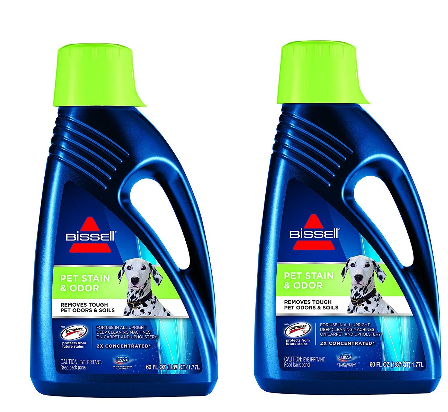 Bissell 2X Pet Stain & Odor Full Size Machine Formula, 2 Bottles (60 ounces) Bissell-hx