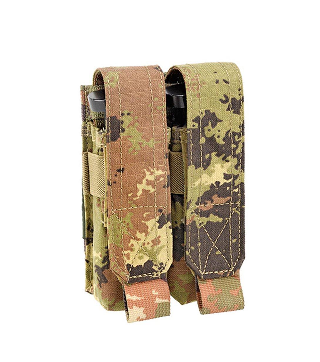 5 DEFCON portacargador para 2 pistolas revistas, 15 x 9,5 x 5 cm, D5-PM02-CT Defcon 5