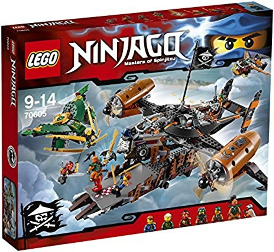 2016 NEW LEGO Ninjago 70605 Misfortunes Keep - 754pcs Building Kit