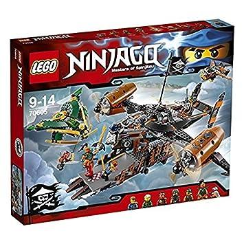 lego 70605 ninjago jeu de construction le vaisseau de la maldiction - Lego Ninjago Nouvelle Saison