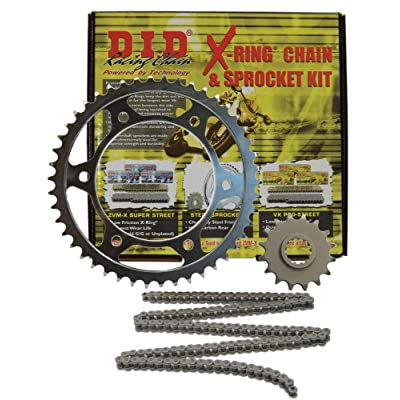 D.I.D. (DKK-005 520VX2 Chain and 15/46T Sprocket Kit: Automotive