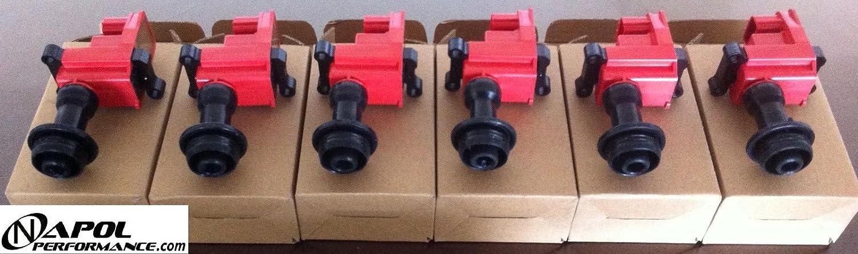 IGNITION COILS PACKS SERIES 2 S2 SKYLINE STAGEA R33 R34 GTR RB26DETT RB25DET 6