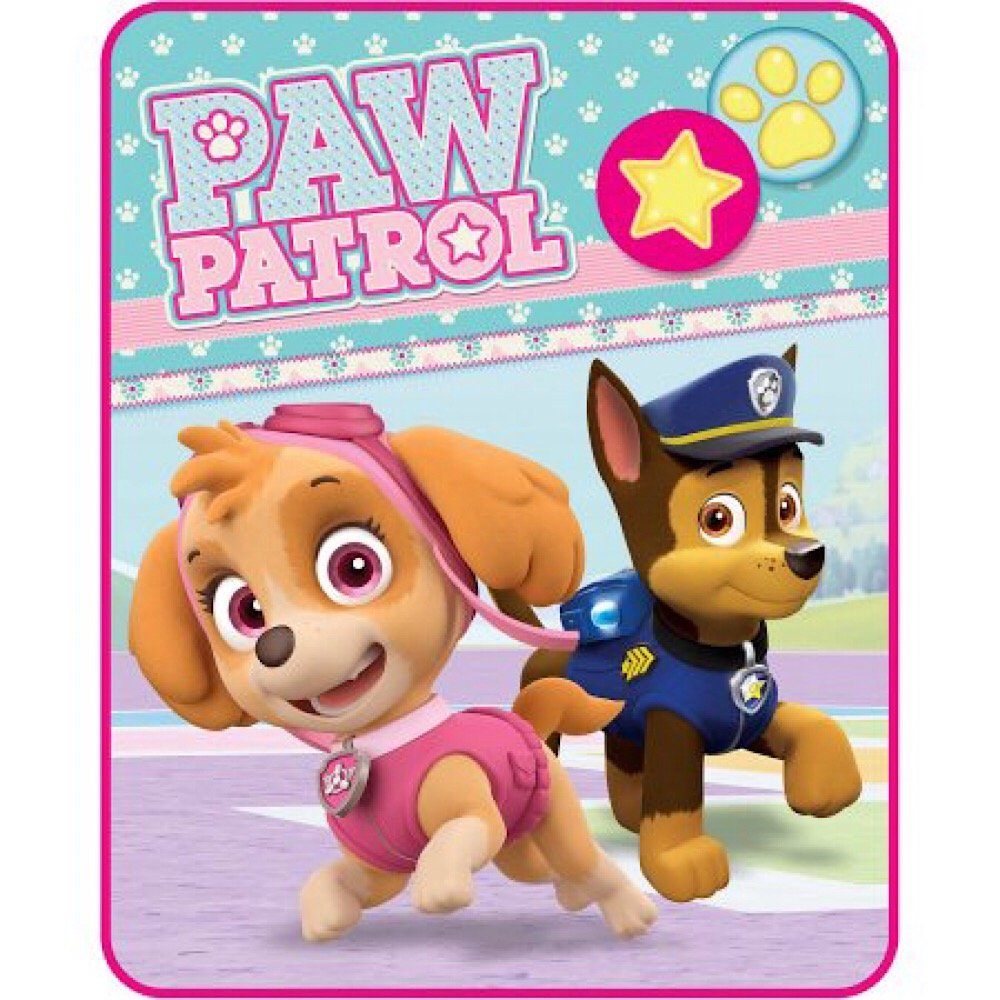 Nickelodeon Paw Patrol Silky Soft Kids Throw Blanket - 40 in. x 50 in.