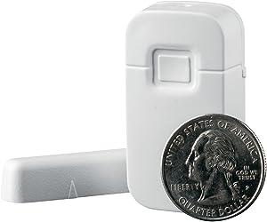 Interlogix Micro Crystal Door/Window Sensor, White (TX-1012-01-1)
